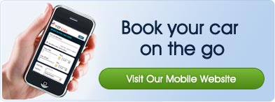 Book your car on the go